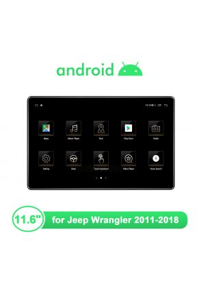 """Newest 11.6"""" Jeep Wrangler Android 10.0 Car Radio With 1920*1080"""