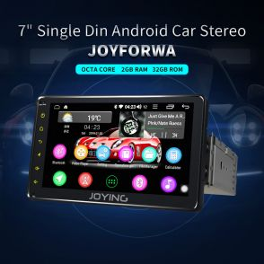 JOYFORWA 2GB+32GB 7'' Android 8.1.0 Car gps Navigation System With Bluetooth WiFi