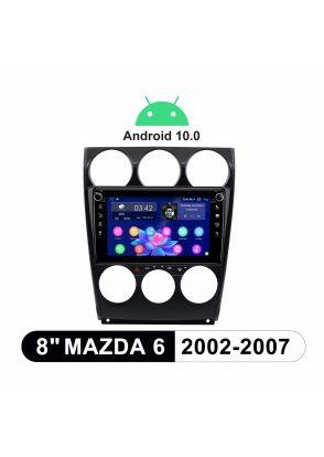 2002-2007 Mazda 6 Android 10.0 IPS Screen Car Stereo System Autoradio