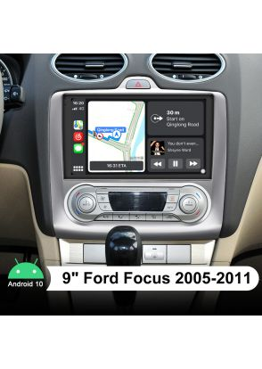 Joyforwa 2005-2011 Ford Focus 9 Inch Android 10.0 Car Music System With 4G Module