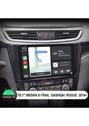 Joyforwa 2014+ Nissan X-Trail Qashqai Rogue Android Car Stereo With 10.1 Inch Ultra-Thin Screen