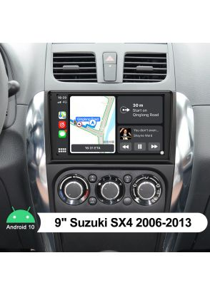 Joyforwa 9 Inch Suzuki SX4 2006-2013 Android Car Stereo Audio System With Bluetooth 5.1