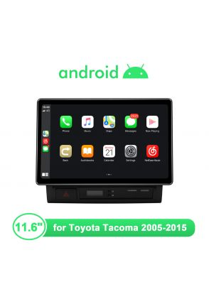 Newest Android 10.0 11.6 inch Android Head Unit for Toyota Tacoma 2005-2015 Android auto