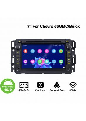 Joyforwa Android 10.0 Chevrolet Plug And Play Car Radio Head Unit With 4GB+64GB