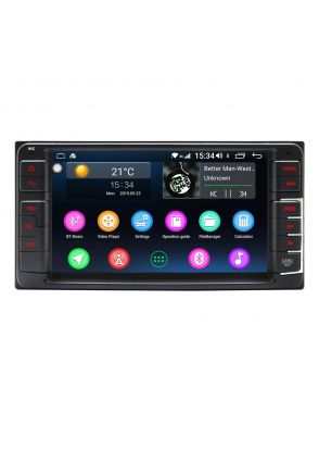 Joyforwa 7 Inch Toyota Universal Android 8.1.0 Car Sound System Head Unit Plug And Play