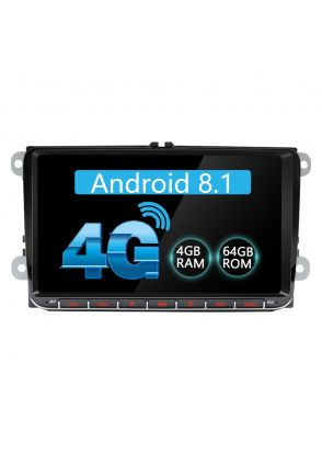 Joyforwa Europe Warehouse 9'' Android 8.1.0 VW Car Auto Radio Support SPDIF Digital Audio Output