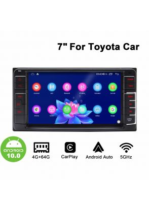 Joyforwa 7 Inch Toyota Universal Android 10.0 Car Sound System Head Unit With Carplay And Android Auto