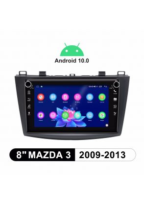 Joyforwa 8 Inch Android 10.0 Car GPS Navigation System For 2009-2013 Mazda 3 Plug And Play