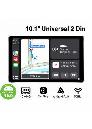 Joyforwa Latest Android 10.0 Double Din Car Stereo With HD 1280X800 Screen