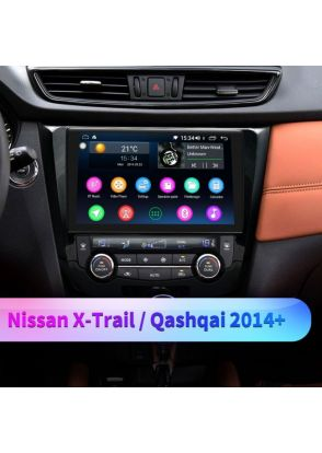 JOYFORWA Big Screen With SPDIF Built-in 4G Android 8.1.0 Octa Core For 2015+ Nissan Qashqai X-Trail