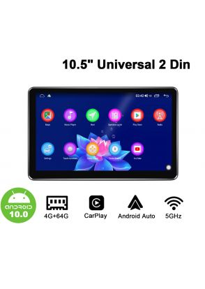 Joyforwa Newest Released 10.5 Inch 2 Din Android Car Radio Sound System With 1280*720