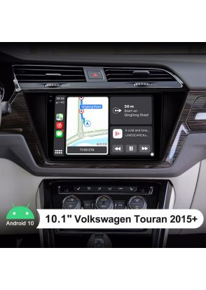 Newest 10.1 Inch Android 10.0 Car Music System Support Android Auto For VW Volkswagen Touran 2015+