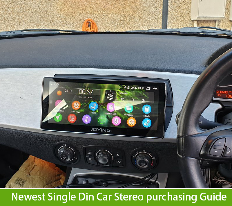 Newest Single Din Bluetooth Car GPS Radio Purchasing Guide