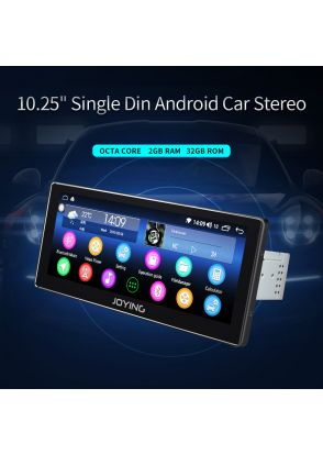 JOYFORWA Germany Warehouse 10.25 Inch Android 8.1.0 Car Media Player With DSP 2GB+32GB
