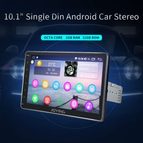 JOYFOYWA 10.1 Inch Android  Car Tablet Single Din Support USB FM GPS