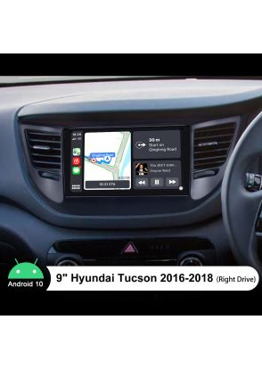 9 Inch Android 10.0 Navigation System For 2016-2018 Hyundai Tucson Build-In Bluetooth 5.1