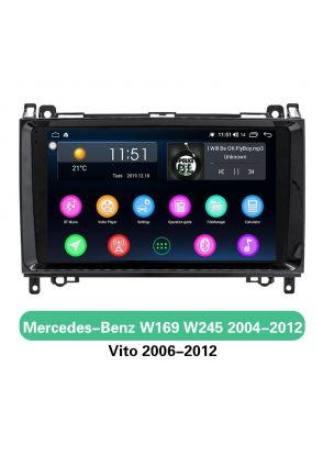 Benz car head unit