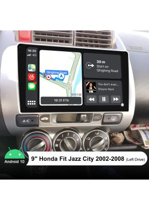 Newest Honda Jazz City Fit 2002-2008 Aftermarket Stereo Upgrade With Bluetooth 5.1
