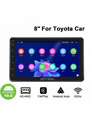 Joyforwa Newest 8 Inch Toyota Universal Car Stereo With Carplay And Android Auto