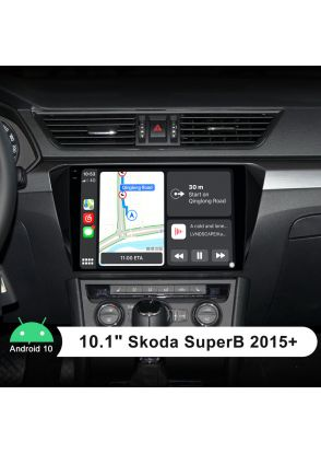 Plug And Play Android Auto Radio For Skoda SuperB Radio 2015+ With 10.1 Inch 1280X800 Screen